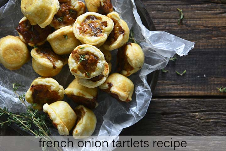 French Onion Tartlets Recipe with Description