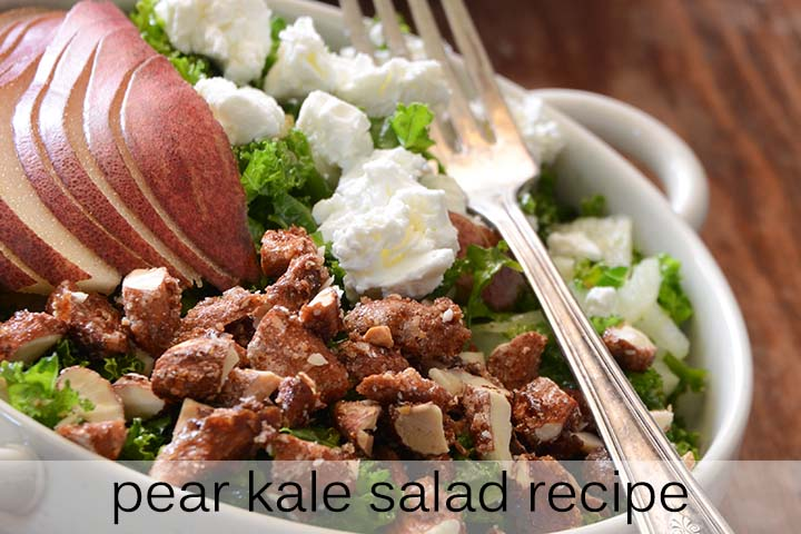 Pear Kale Salad Recipe with Description