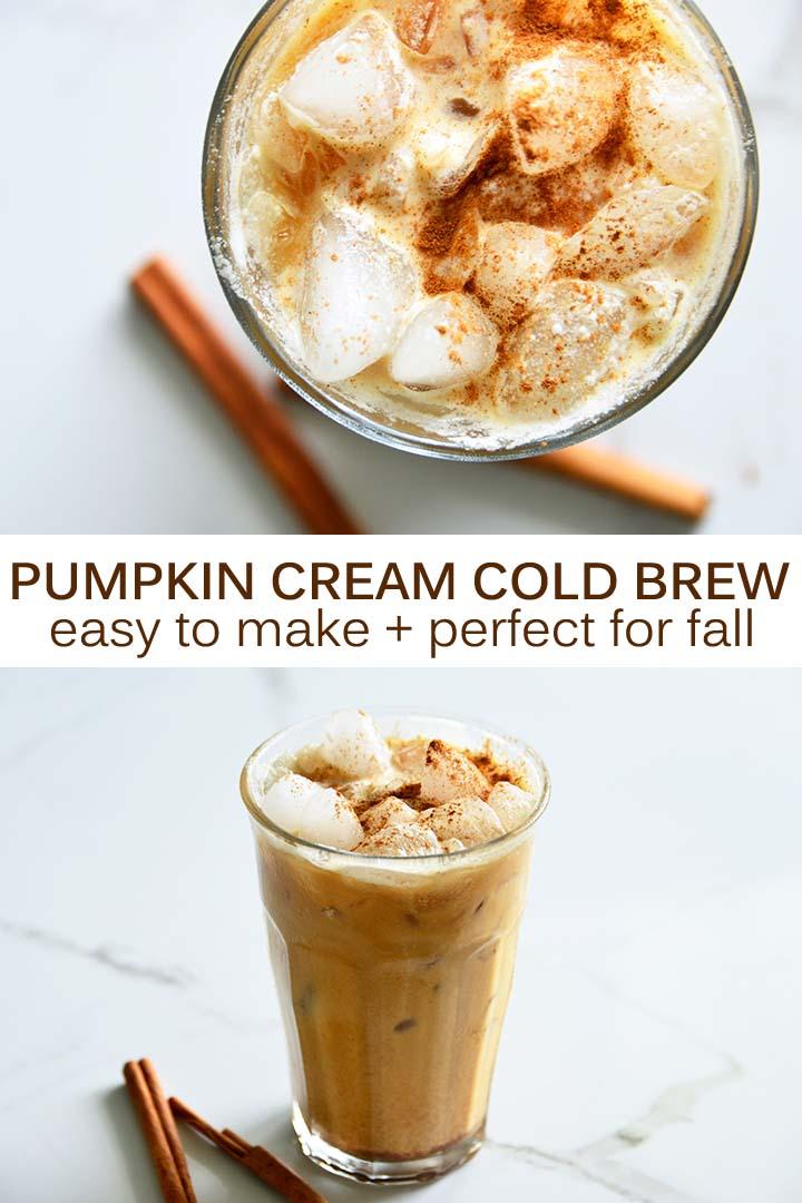 Pumpkin Cream Cold Brew Pin