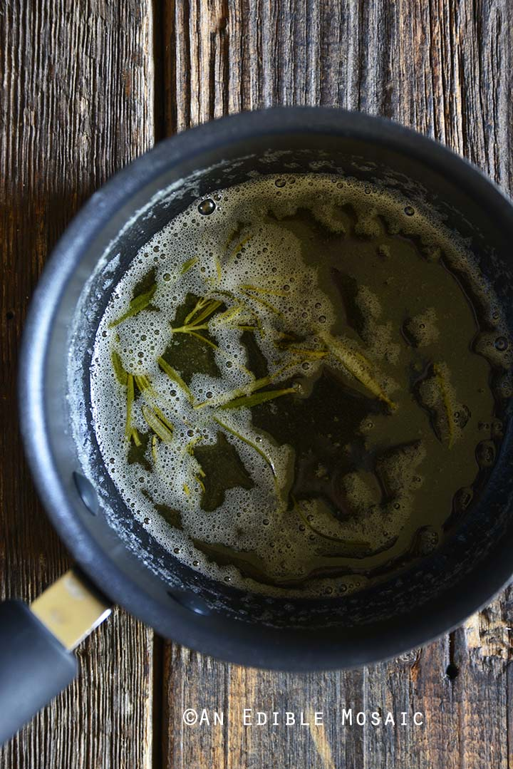 Brown Butter with Rosemary