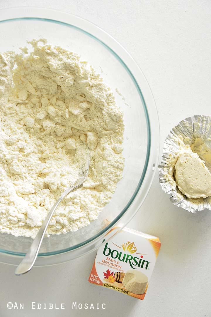 Buttermilk Biscuit Dough with Maple Bourbon Boursin