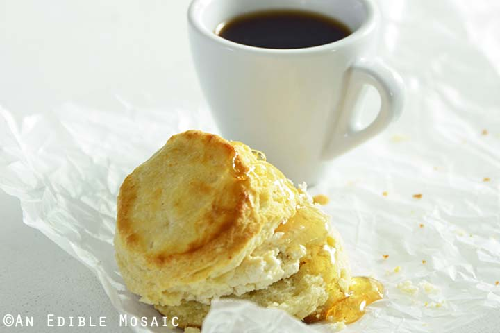 Buttermilk Biscuits with Coffee