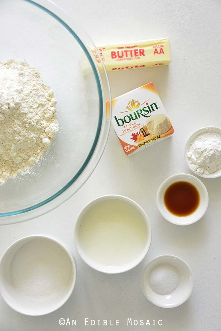Ingredients for Maple Bourbon Buttermilk Biscuits