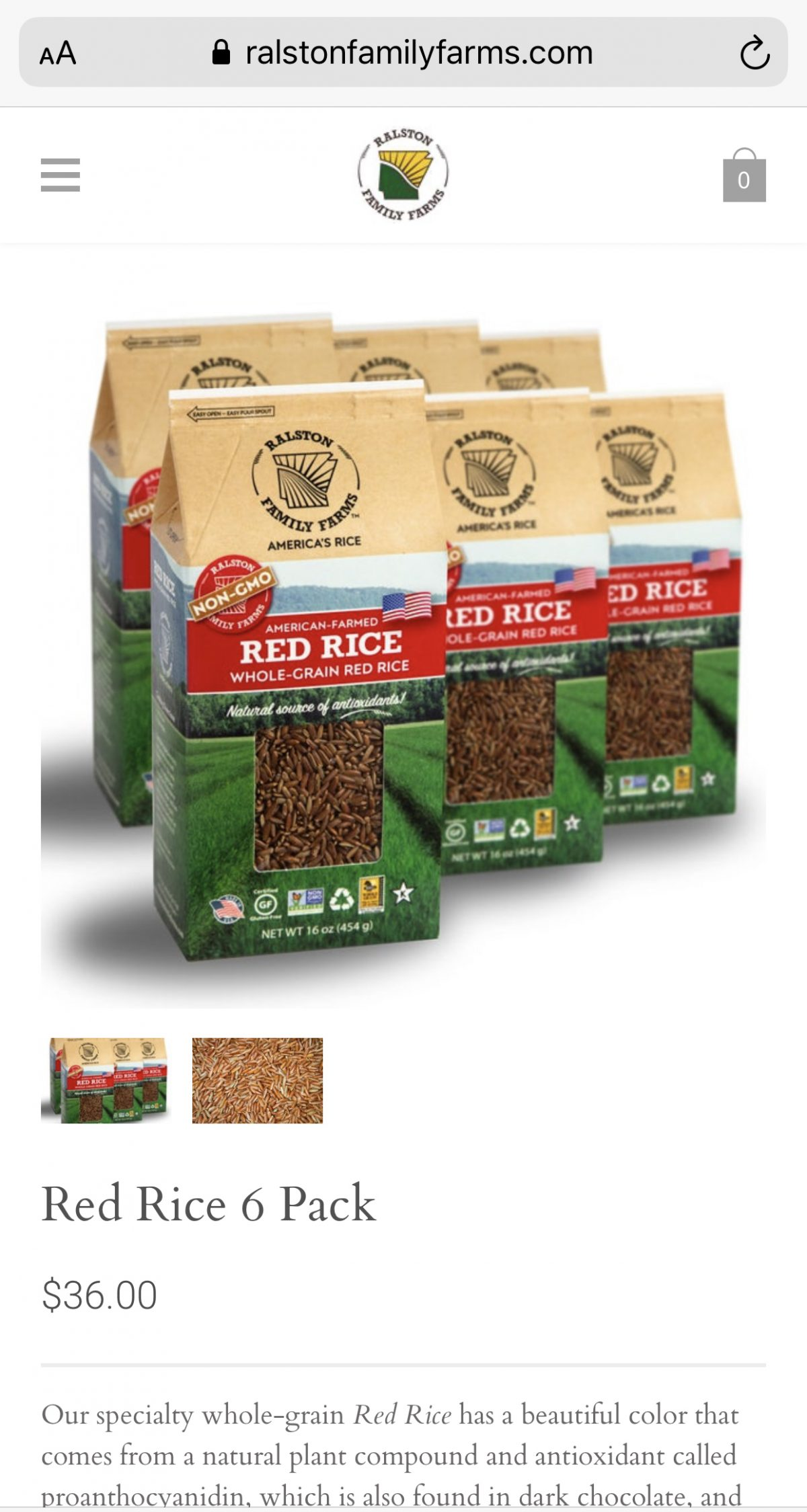 Red Rice 6 Pack
