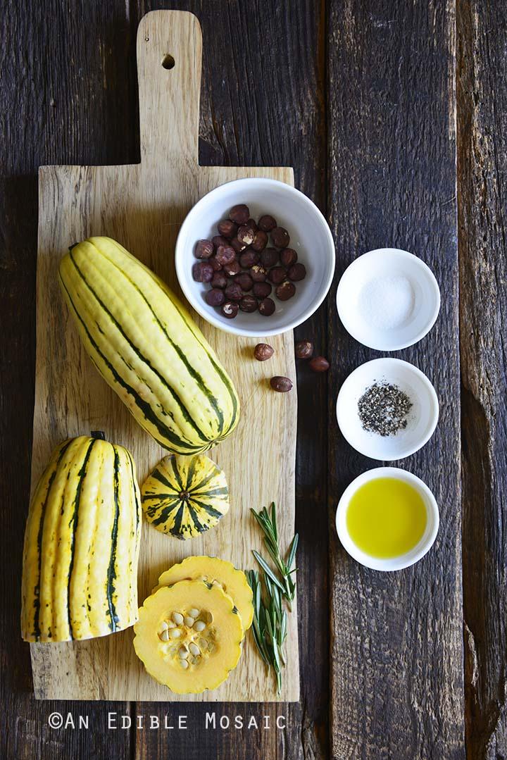 Roasted Delicata Squash Ingredients