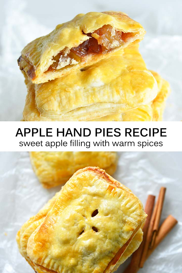 Apple Hand Pies Recipe Pin