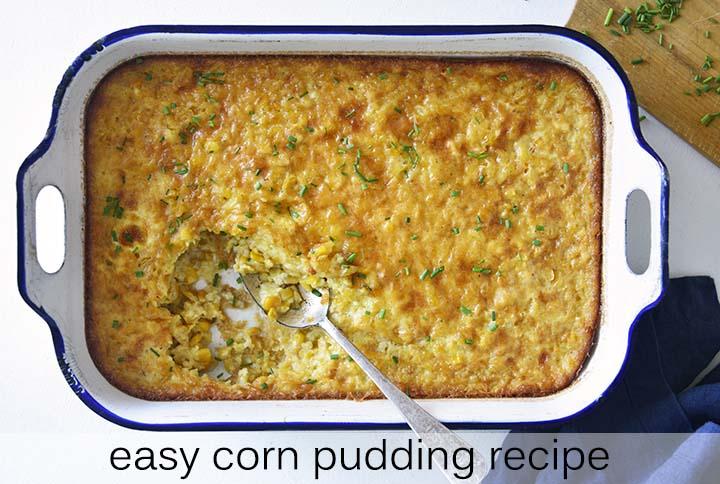 Easy Corn Pudding Recipe with Description