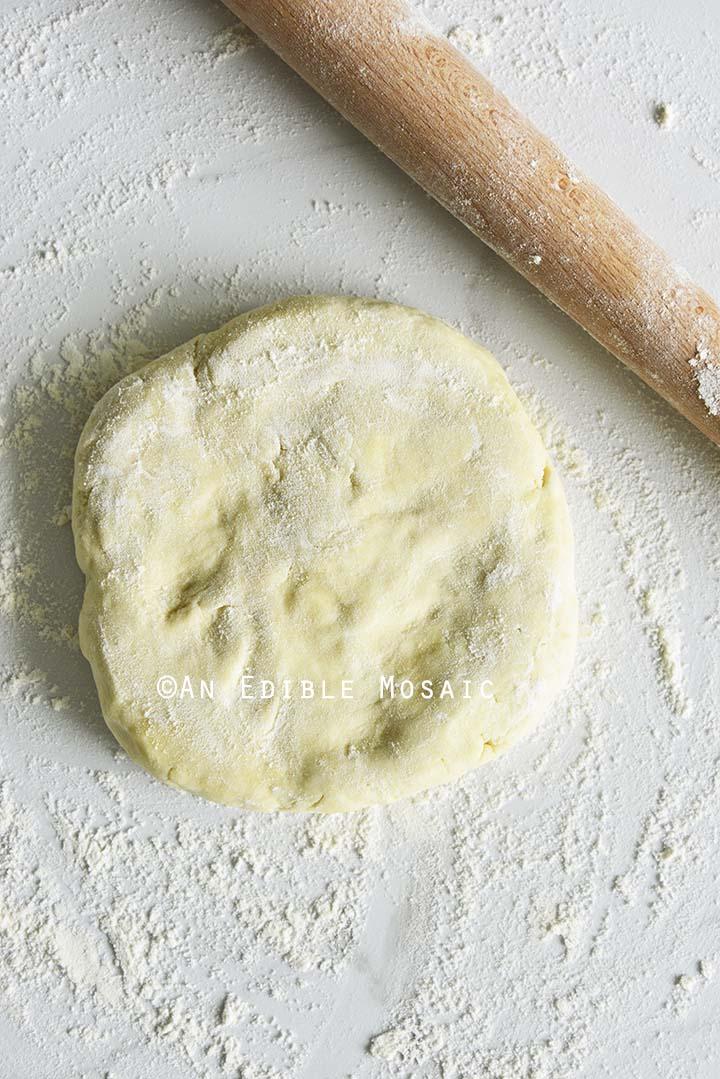 Flouring Pie Dough
