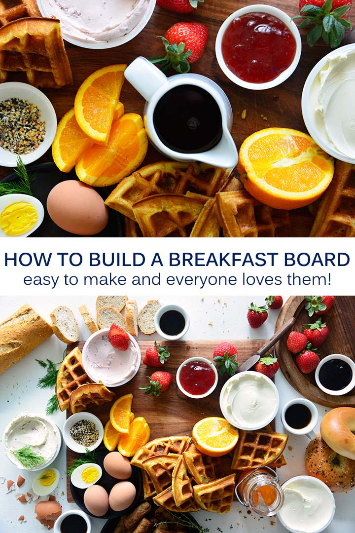 How to Build a Breakfast Board Pin