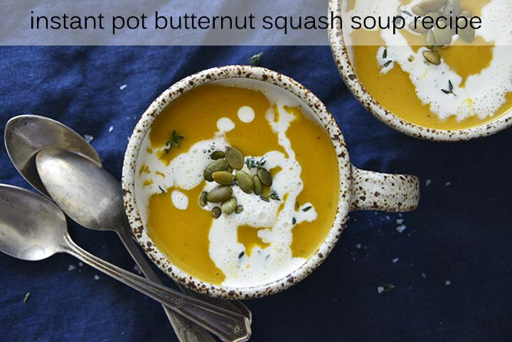Instant Pot Butternut Squash Soup Recipe with Description