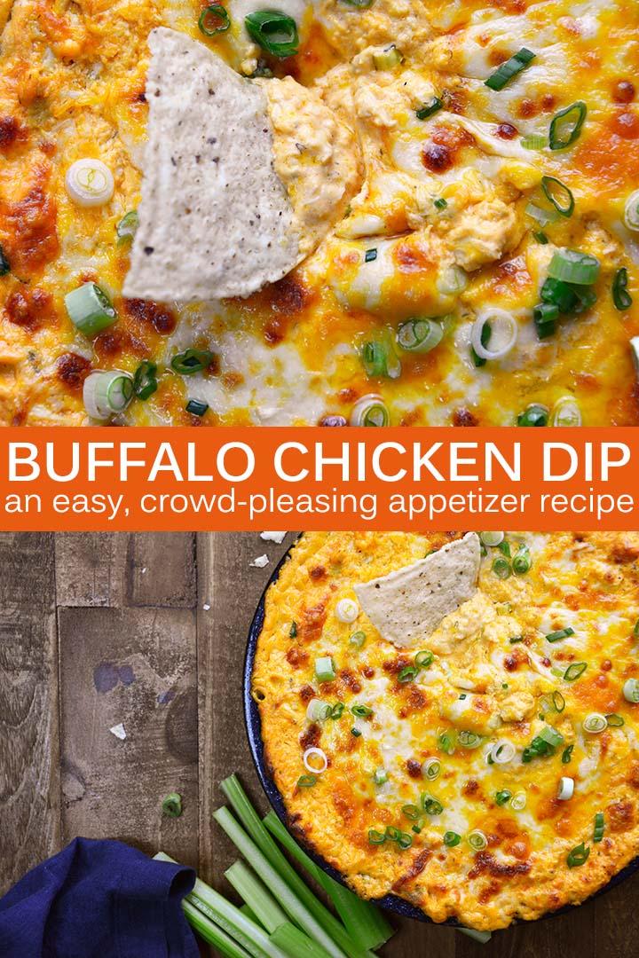 Buffalo Chicken Dip Recipe Pin