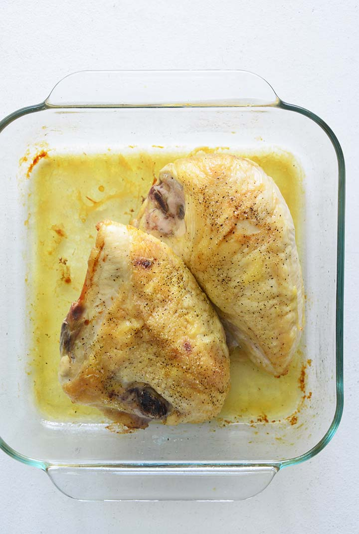 Cooked Chicken Breasts