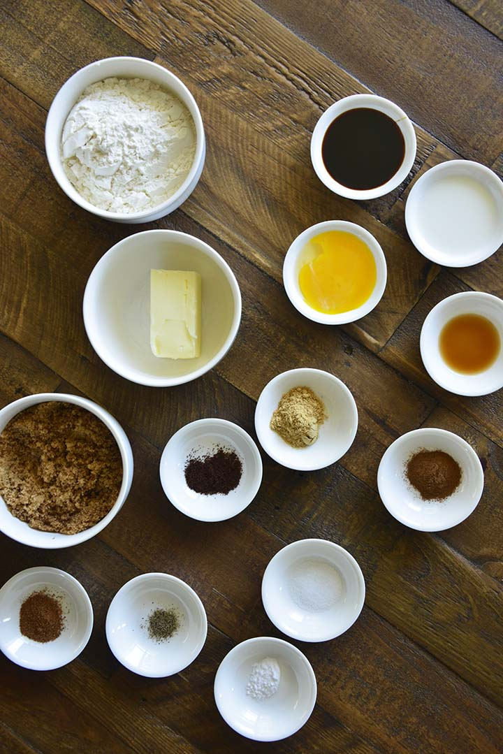 Gingersnaps Ingredients