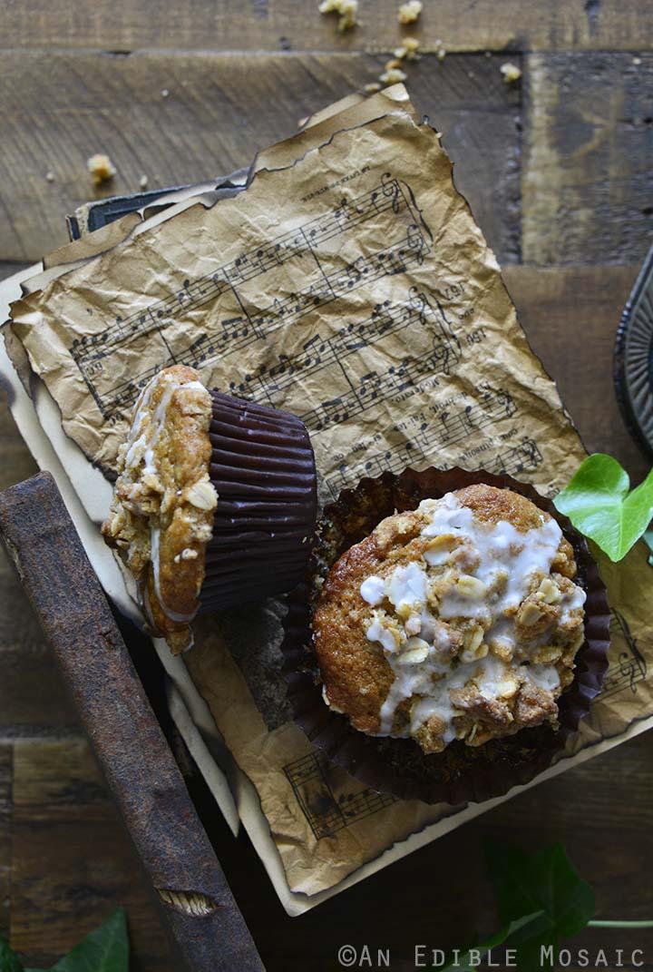 Banana Muffins Recipe on Vintage Books