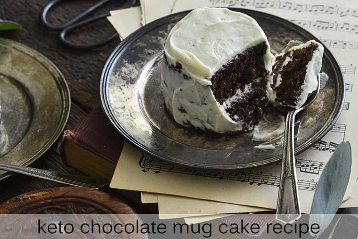 Keto Chocolate Mug Cake Recipe with Description