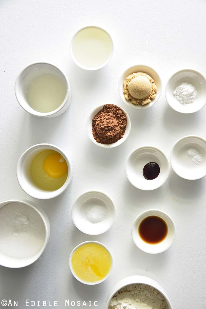 Red Velvet Cupcakes Ingredients