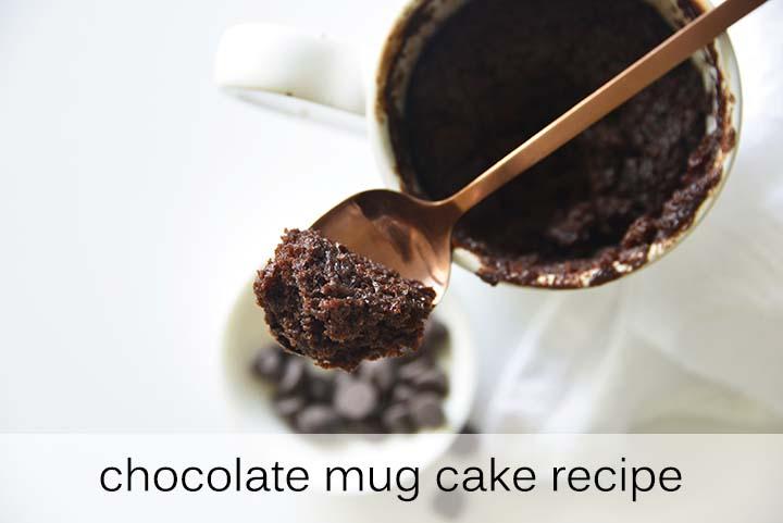 Chocolate Mug Cake Recipe with Description