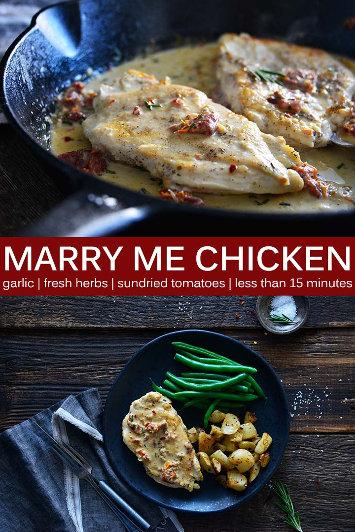 Easy Marry Me Chicken Recipe Pin