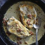 Marry Me Chicken in Cast Iron Skillet