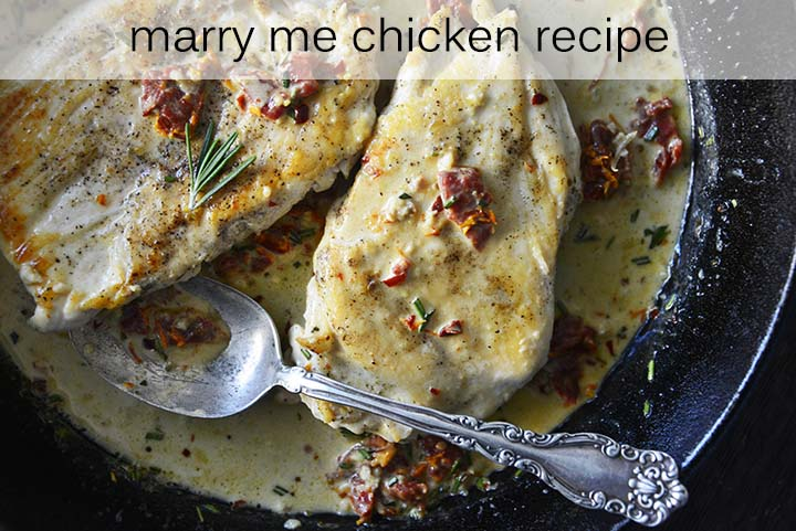 Marry Me Chicken with Description