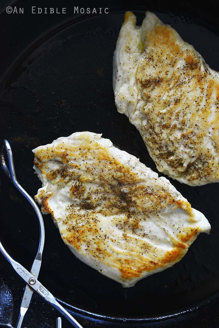 Pan Seared Chicken Cutlets