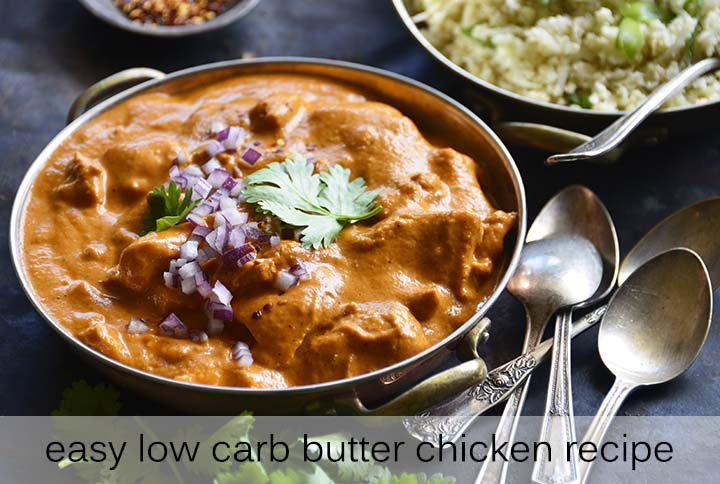 Easy Butter Chicken Recipe with Description