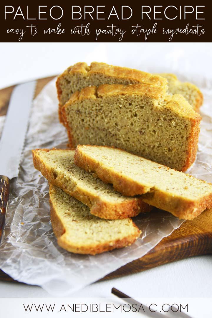 Paleo Bread Recipe Graphic