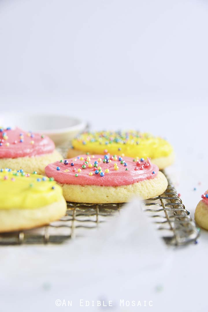 Simple Frosted Sugar Cookies Recipe