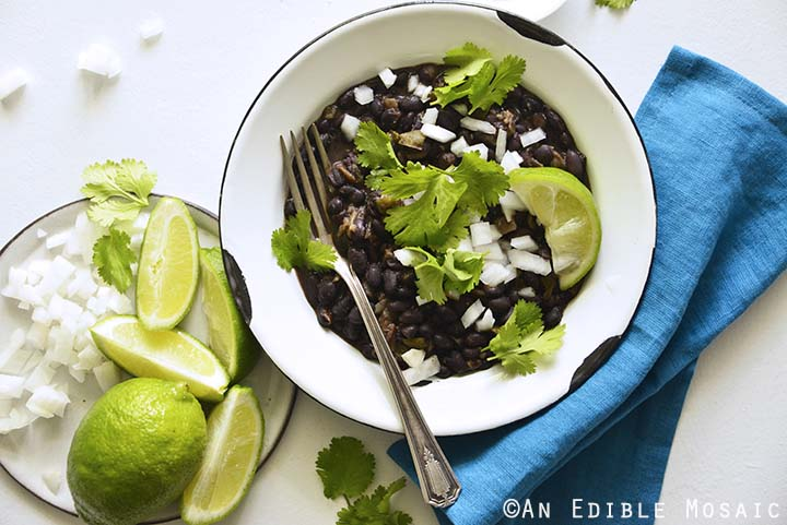 Authentic Black Beans Recipe