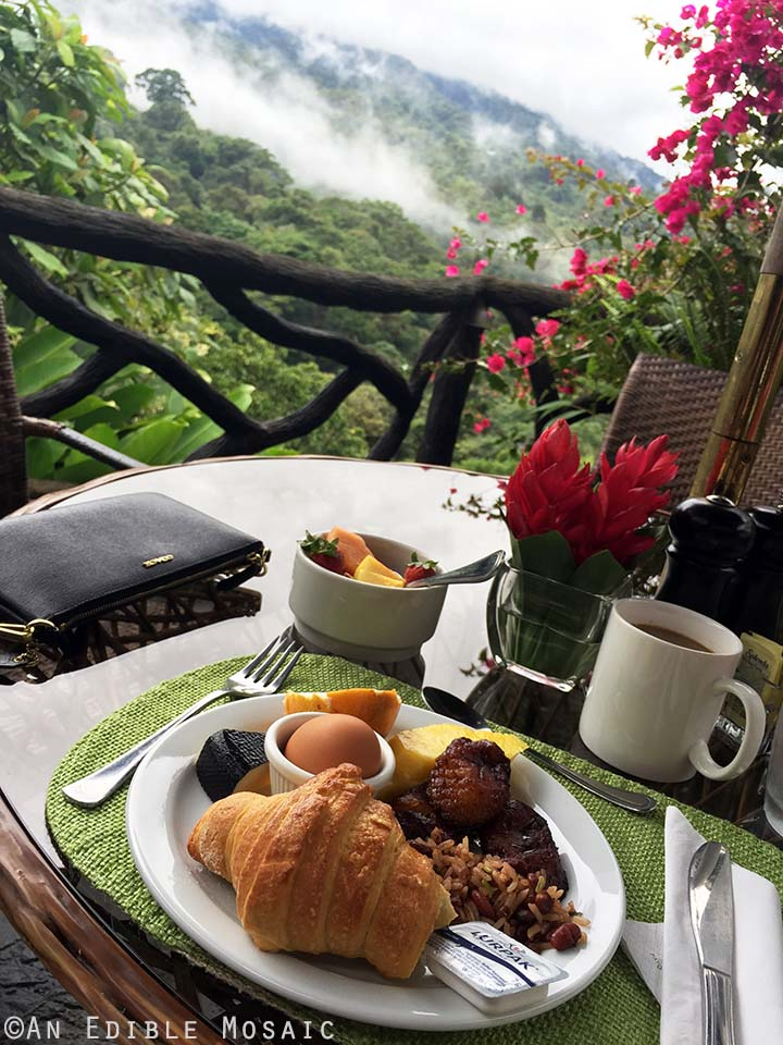 Breakfast with a View in Costa Rica