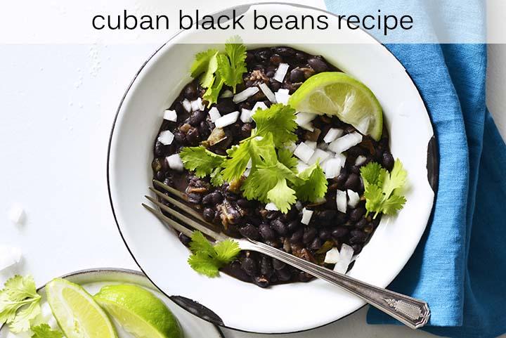 Cuban Black Beans Recipe with Description