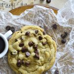 Single Serving Chocolate Chip Cookie Recipe Featured Image