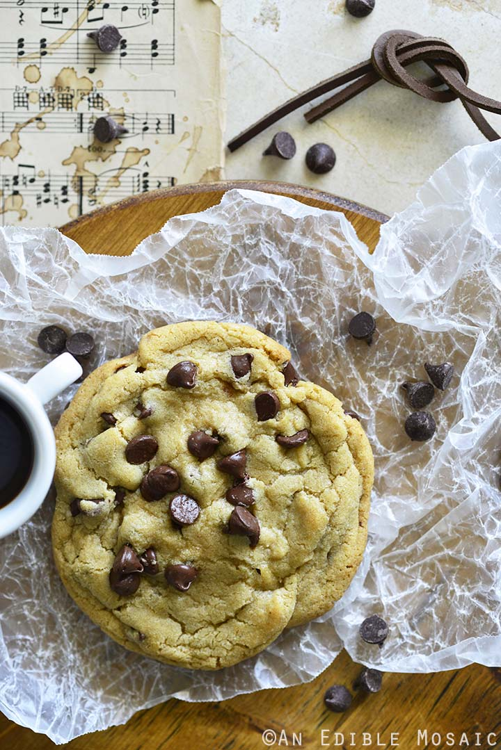 Single Serving Chocolate Chip Cookie