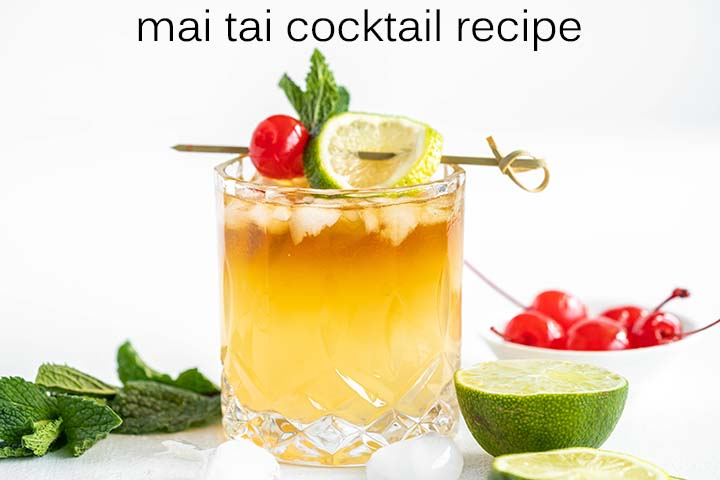 Mai Tai Cocktail Recipe with Description