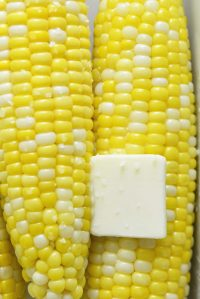 Microwave Corn on the Cob Featured Image
