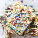 Red White and Blue Blondies Featured Image