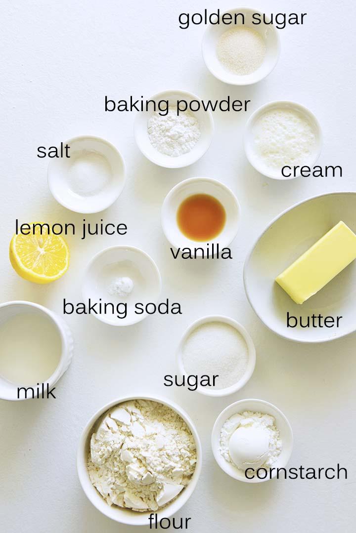 Shortcake Ingredients