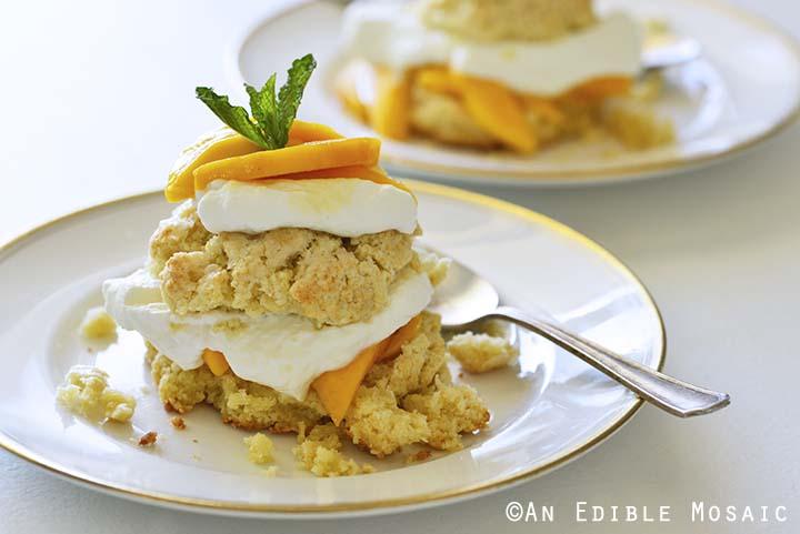 Small Batch Mango Shortcake