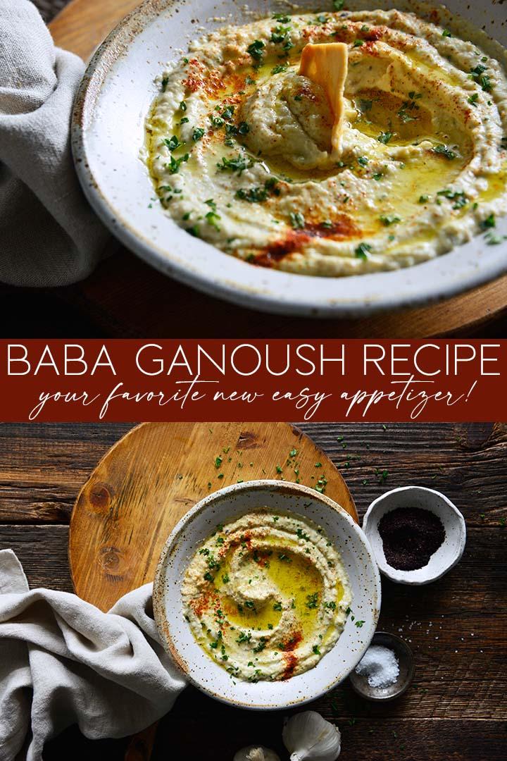 Baba Ganoush Recipe Pin