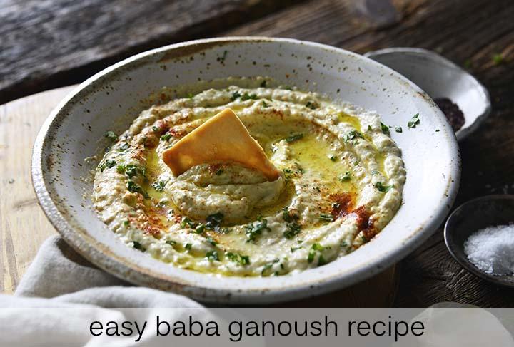 Easy Baba Ganoush Recipe