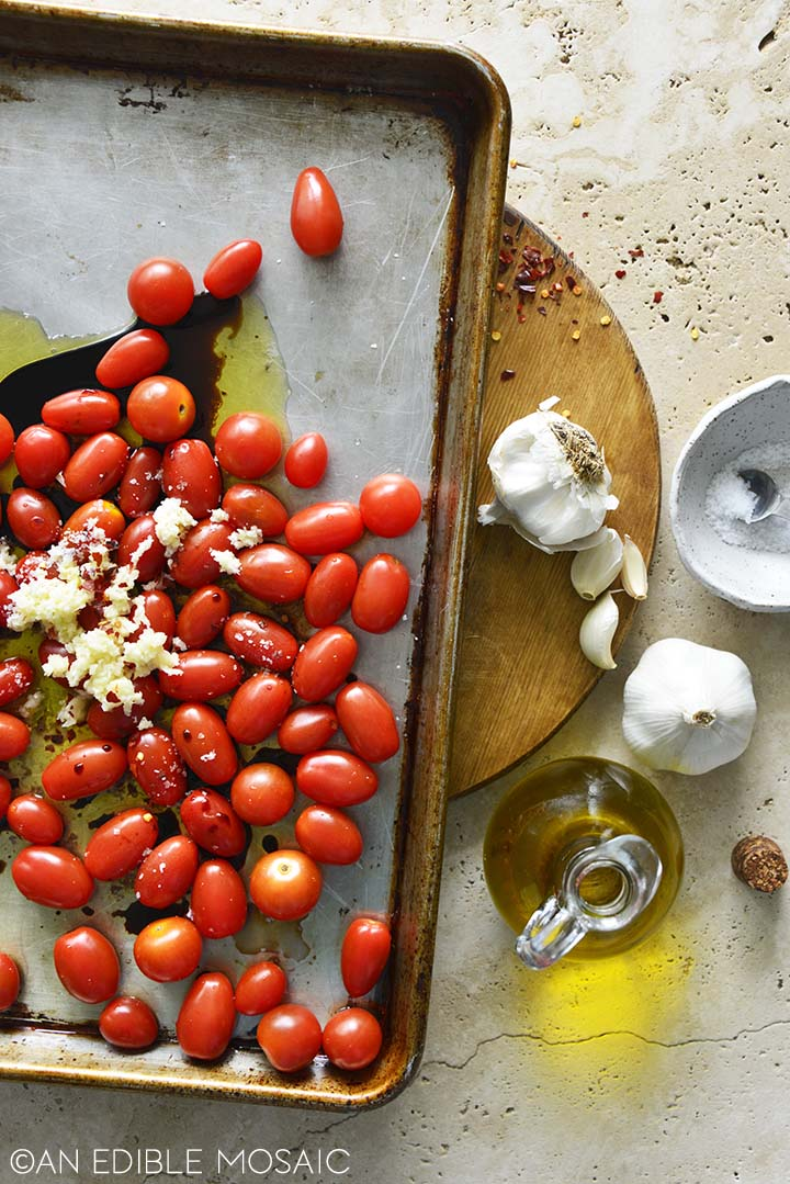 Getting Ready to Roast Tomato