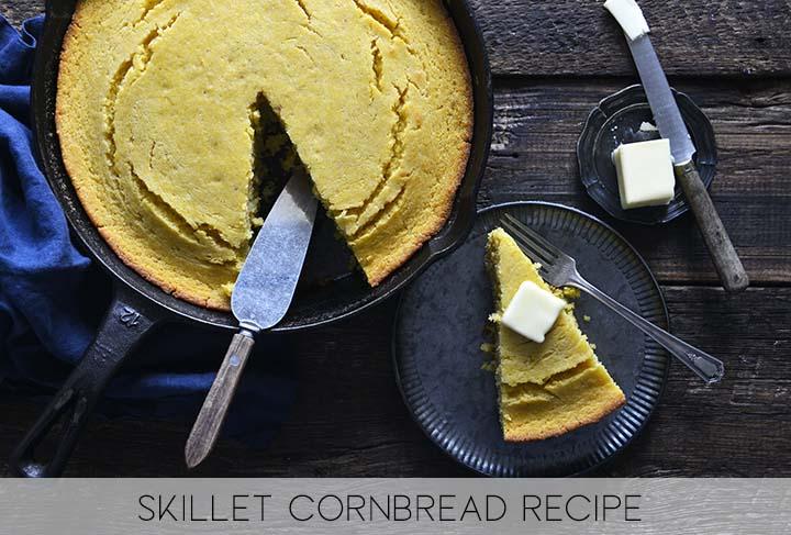 Skillet Cornbread Recipe with Description
