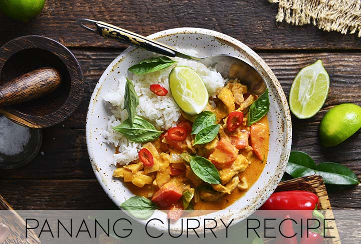 Chicken Panang Curry with Description