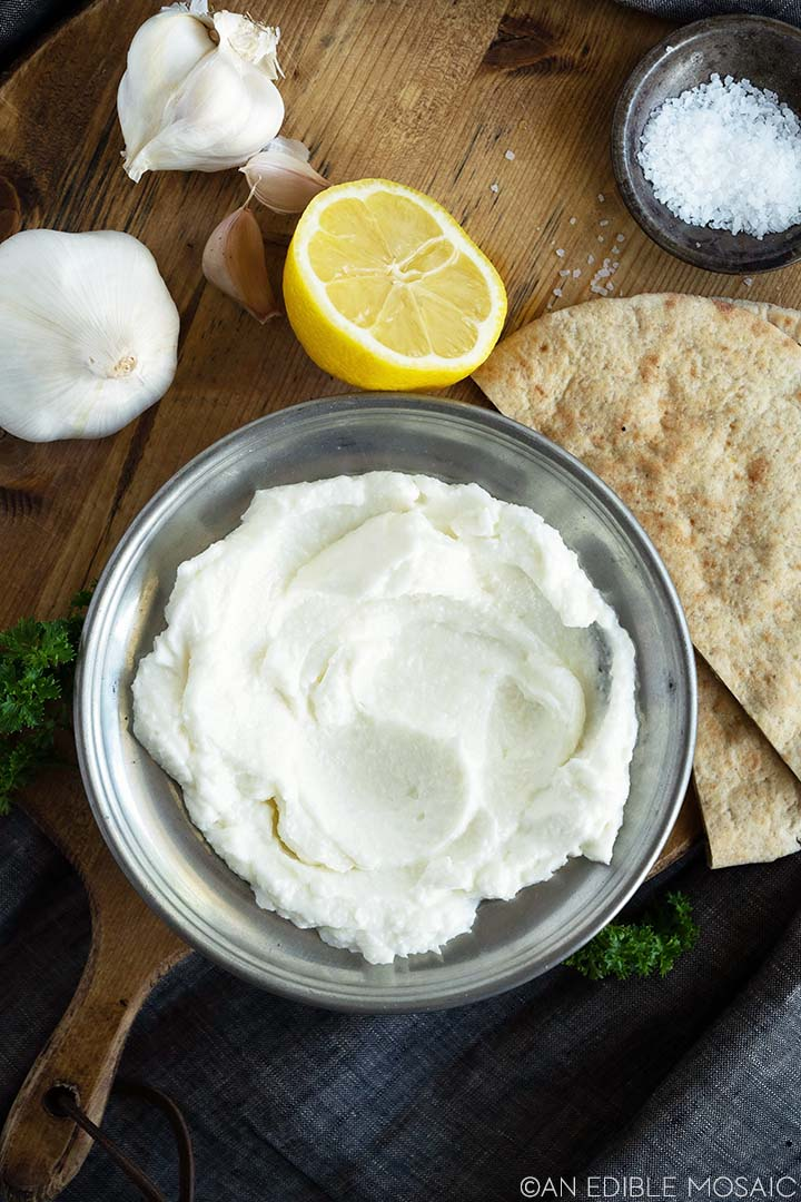 Middle Eastern Garlic Dip