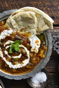 afghani borani banjan recipe featured image