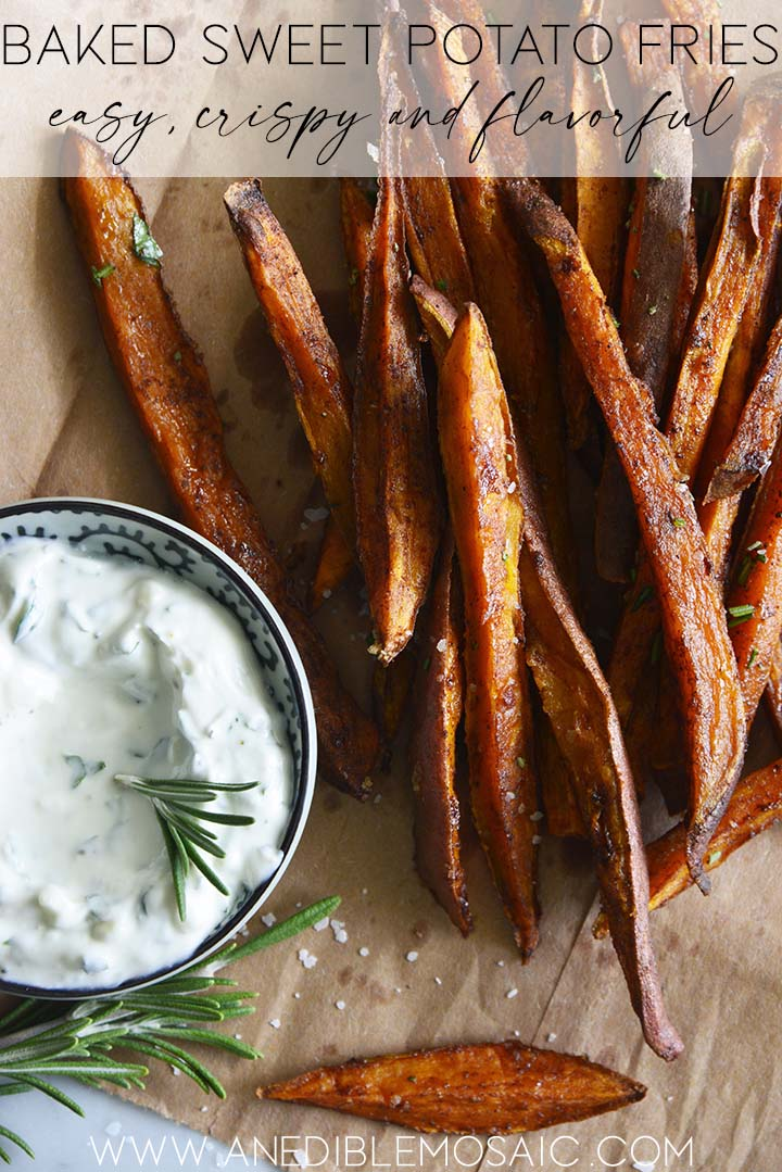 baked sweet potato fries graphic