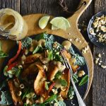 glazed king oyster mushroom recipe featured image