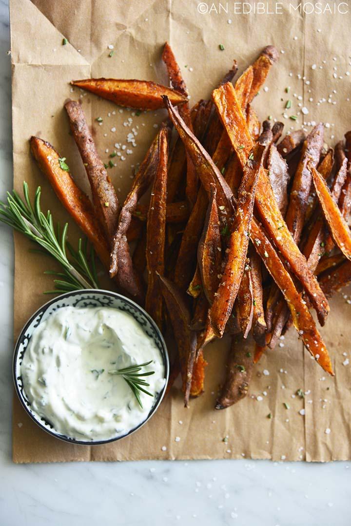 sweet and smoky sweet potato fries