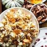 caramel apple popcorn featured image