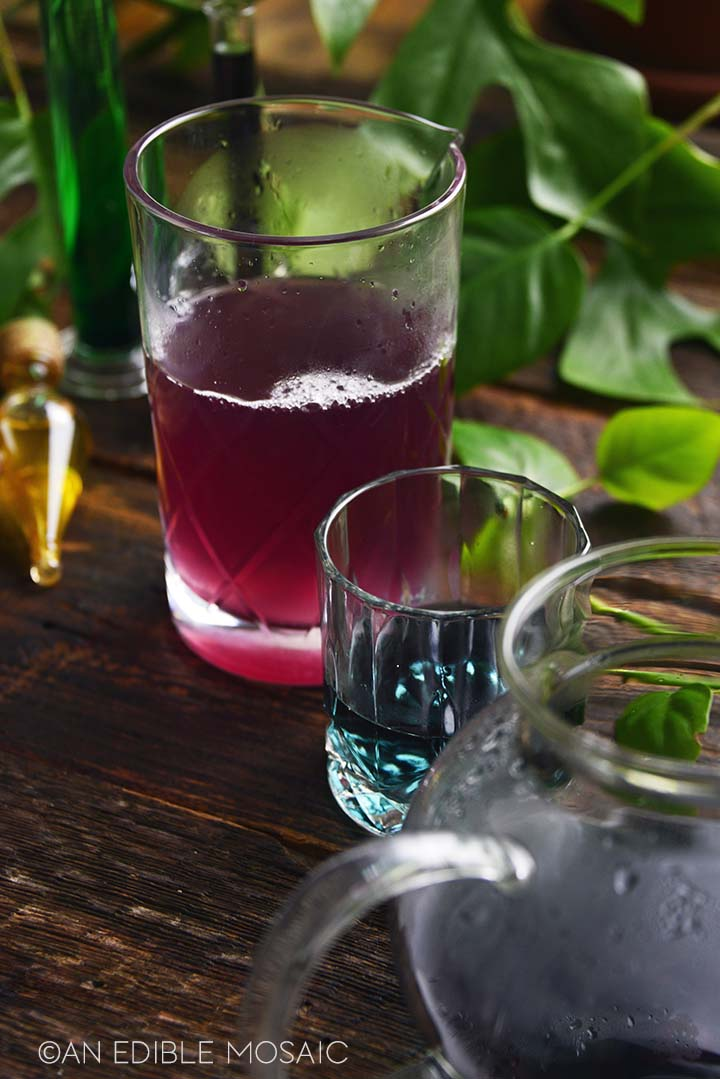 color changing butterfly pea flower tea